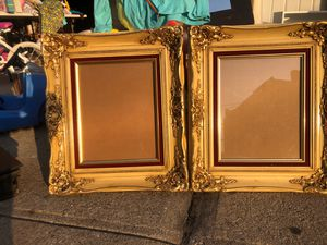 """Two Custom Made Frames for 11x14"""" art or photos for Sale in New York, NY"""