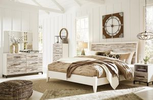 Evanniii Cream/Gray Panel Bedroom Set | for Sale in Arlington, VA