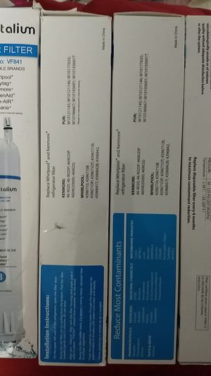 Vitalium Refrigerator Water Filter for Sale in Greer, SC