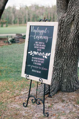 Wedding sign for Sale in Melbourne, FL
