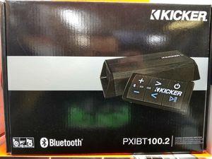Kicker PXIBT100.2 - 2x50-Watt Full-Range Amplifier/Controller w/ Bluetooth® Interface for Sale in Dallas, TX
