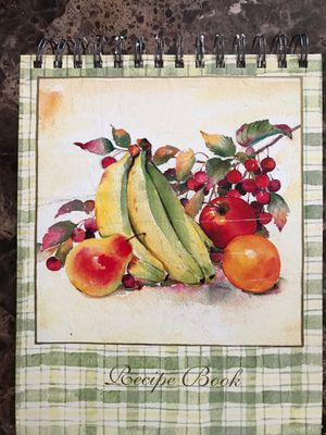 Recipe Book to write you special recipe with blank pages for Sale in Hartford, CT
