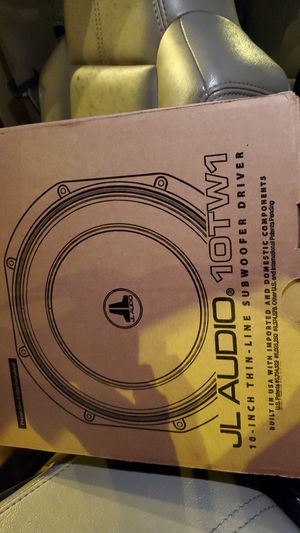 Jl audio 10 inch subs for Sale in Sammamish, WA