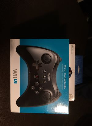 Nintendo Wii U - Wireless Pro Controller BRAND NEW for Sale in Pittsburgh, PA
