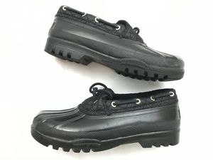 New Black Sperry Top-sider Women's Waterproof Boots-Size 10 for Sale in Las Vegas, NV