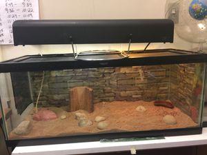 Reptile cage heat rock heat pad eco light system e