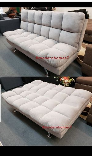 grey Super comfortable sofa bed sleeper couch futon , brown available for Sale in Rancho Cucamonga, CA