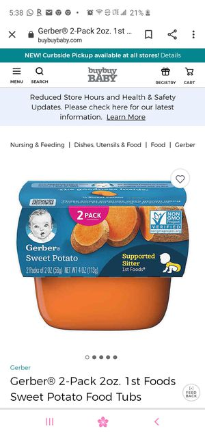 Baby food different types for Sale in Aurora, IL