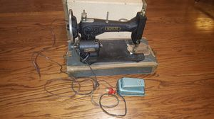 White rotary vintage sawing machine for Sale in Chicago, IL