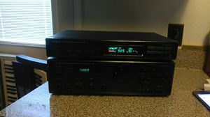 ONKYO A RV401 INTEGRATED AMPLIFIER & FM/AM TUNER T-4010 with REMOTE CONTROL for Sale in Arlington, TX