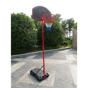 Ktaxon 5.2ft to 7.2ft Adjustable Basketball Goal, Portable Removable Basketball Hoop Stand with Wheels, Backboard, Rim Net, Indoor/Outdoor for Sale in Phoenix, AZ