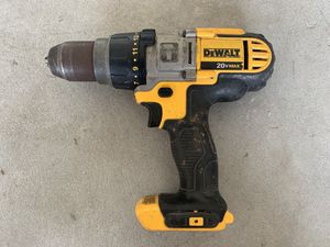 Dewalt 20v Max Hammer Drill (good condition) -$50 for Sale in Lake Wales, FL