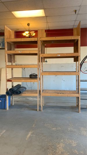 Free wood Shelves. First come first serve for Sale in Chesapeake, VA