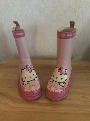 Kids hello kitty rain boots for Sale in Philadelphia, PA
