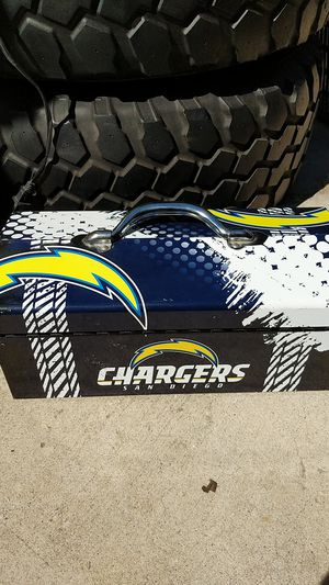 Charger s tool box for Sale in San Diego, CA