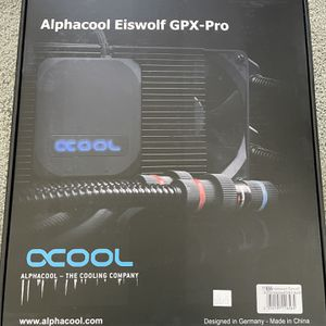 Alphacool Eiswolf 240 Aio For Nvidia RTX 2080 Ti for Sale in Carlsbad, CA