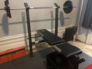 Bench press set! for Sale in New York, NY