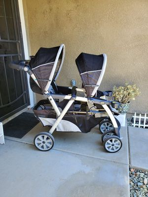 Chicco cortina Double stroller for Sale in Perris, CA