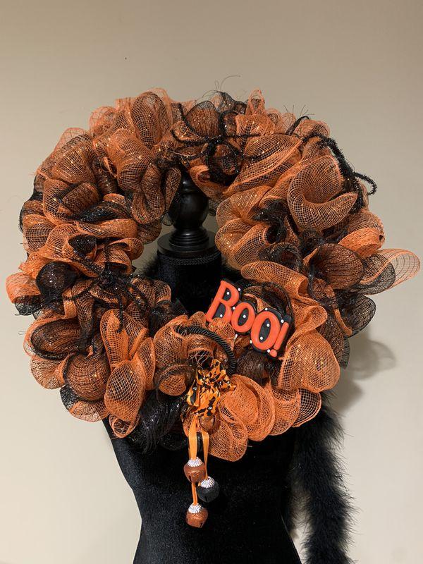 Custom made Halloween wreath