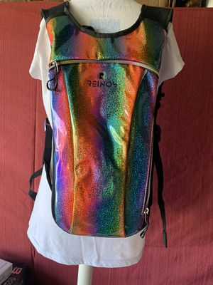 Hydration Backpack - Light Water Pack - 2L Water Bladder Included for Running, Hiking, Biking, Festivals, Raves for Sale in Fontana, CA