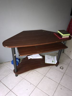 Wooden desk for Sale in Lake City, MI