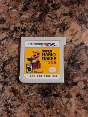 Nintendo 3DS Super Mario Maker 3DS for Sale in Santa Ana, CA