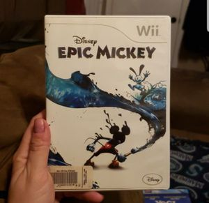 Wii epic mickey for Sale in Federal Way, WA