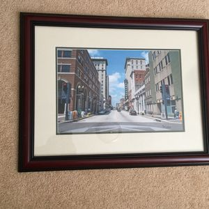 Framed photo of Downtown Knoxville/Tennessee Theatre for Sale in Knoxville, TN