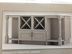 Kitchen cabinet island for Sale in Palm Harbor, FL