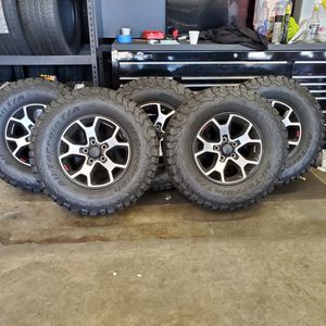 Factory Jeep Wrangler Rubicon Wheels & Tires for Sale in Sandy Springs, GA