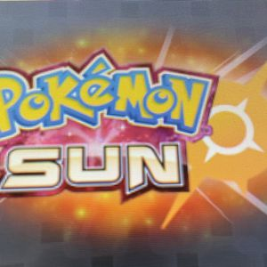 Pokémon Sun Game for Sale in Encinitas, CA