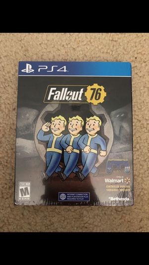 Fallout 76 new ps4 for Sale in Alexandria, VA