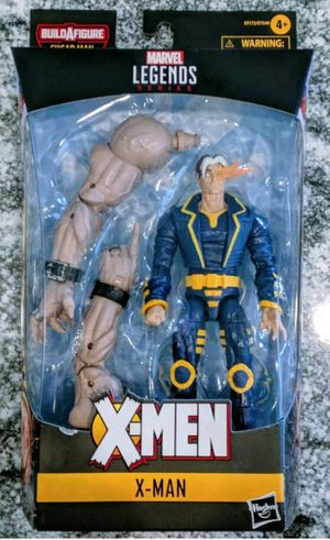 Marvel Legends Age if Apocalypse X-Men X-Man Collectible Action Figure Toy with Sugarman Build a Figure Piece for Sale in Chicago, IL