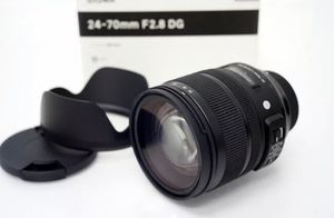 Sigma24-70mm (canon EF mount) for Sale in Milford, CT