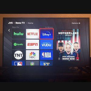 40' Roku Jv Flatscreen Smart Tv for Sale in Escondido, CA