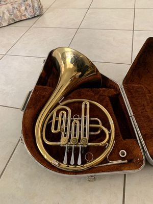 Rare F.E. Olds and Son Ambassador French Horn for Sale in Alta Loma, CA