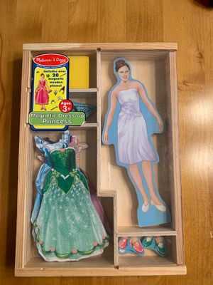Melissa & Doug Magnetic Dress Up Princess for Sale in Hillsboro, OR