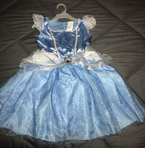 Disney's Cinderella embroidered dress with shiny ribbons for Sale in National City, CA