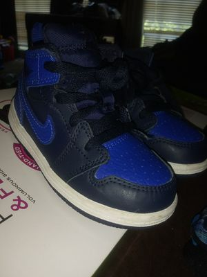 Blue Air Jordans Brand New SIZE 7C for Sale in Temple Hills, MD