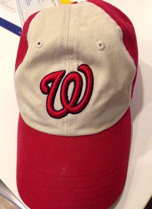 Washington Nationals adjustable hat for Sale in Washington, MD