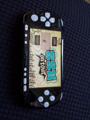BLACK/WHITE 3001 * SLIM * - PSP - WITH 5,000 GAMES !!! for Sale in Santa Ana, CA