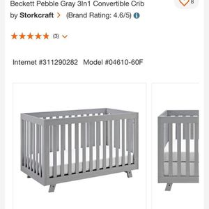 3 In 1 Crib for Sale in Orland Park, IL
