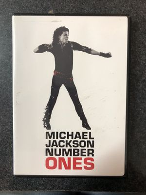 Michael Jackson Number Ones DVD for Sale in Griswold, CT