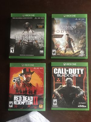 Xbox one game with Delivery In some Kissimmee areas only included for Sale in Poinciana, FL