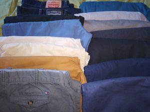 15 Pair Mens Pants 38-40 for Sale in Trenton, NJ