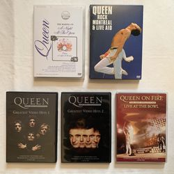 QUEEN Concert DVD Documentary Music video Collection Set for Sale in Pleasant Valley,  NY