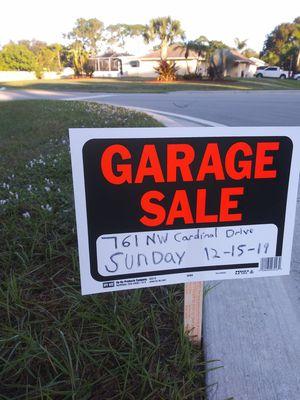 Garaje sale for Sale in Port St. Lucie, FL