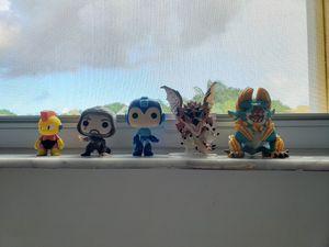 Assassin Creed Funko, Megaman Mini figure & Funko, Monster Hunter Funko for Sale in Miami, FL