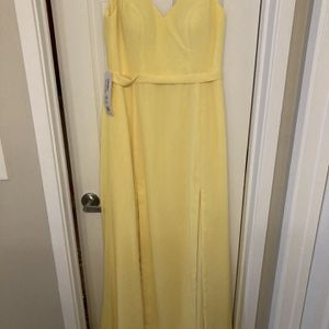 Yellow Prom or Bridesmaid Dress for Sale in Smyrna, GA
