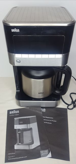 Braun Brewsense KF 7155 10 Cup Coffee Maker (Used Once) for Sale in Valrico, FL